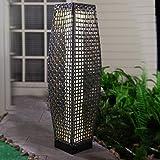 Grand patio Outdoor Solar-Powered Woven Resin