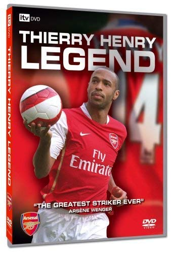 new concept 0b847 02d32 Thierry Henry: Legend [DVD]: Amazon.co.uk: Thierry Henry ...