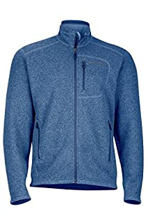 Marmot Drop Line Men's Jacket, Lightweight 100-Weight Sweater Fleece, Indigo Blue (B075LGTW13) | Amazon price tracker / tracking, Amazon price history charts, Amazon price watches, Amazon price drop alerts