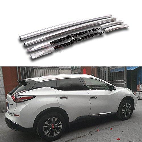 Fit for Nissan Murano 2015-2018 2 Pcs Aluminium Roof Rail Roof Rack Side Rail Bar ()