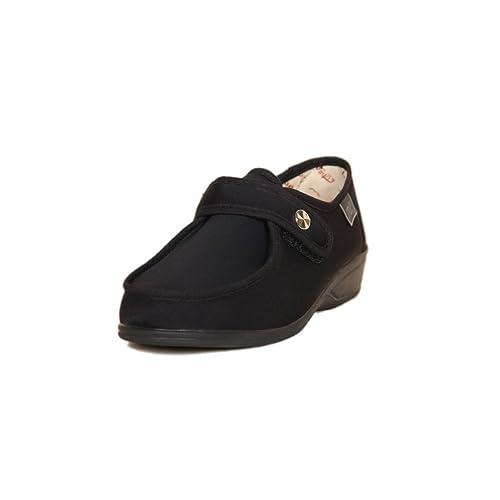 DOCTOR CUTILLAS 746 Zapatilla Velcro Confort Mujer: Amazon.es: Zapatos y complementos