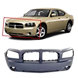 2007 dodge charger rt bumper - MBI AUTO - Primered, Front Bumper Cover 2006 2007 2008 2009 2010 Dodge Charger, CH1000461