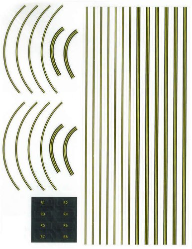 Gemini Jets Graphic Decal Sheet For Airport Terminal Set