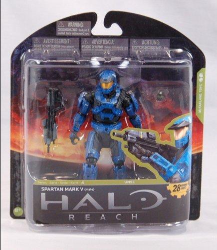 [McFarlane Toys Halo Reach Series 4 Spartan Mark V Male Action Figure] (Spartan Mark)