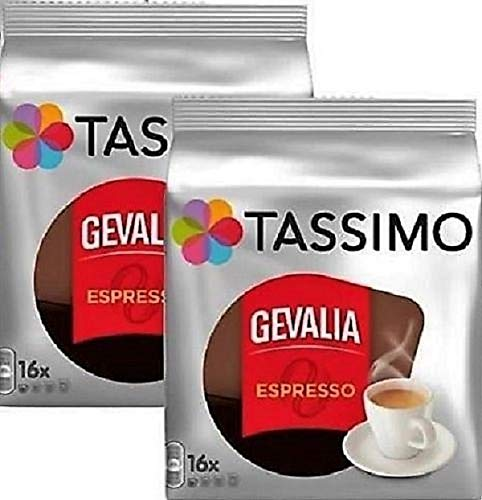 gevalia Espresso Tassimo T-Disc 32 Count by gevalia: Amazon ...