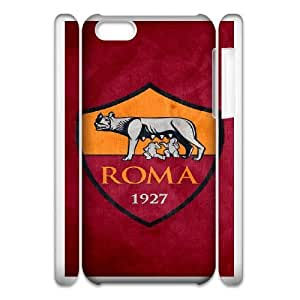 As Roma Logo For iphone6 Plus 5.5 3D Cell Phone Case White XER39570