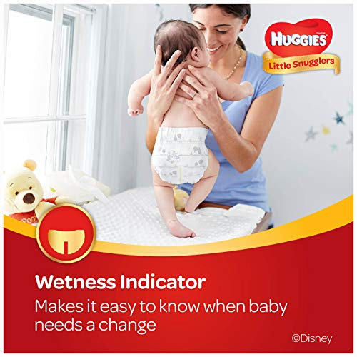 Large Product Image of Huggies Little Snugglers Baby Diapers, Size 4, 144 Count, ECONOMY PLUS (Packaging May Vary)