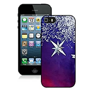 Featured Desin Iphone 5S Protective Case Merry Christmas iPhone 5 5S TPU Case 25 Black