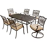 Hanover TRADITIONS7PCSW Traditions 7-Piece Deep-Cushioned Outdoor Dining Set Review