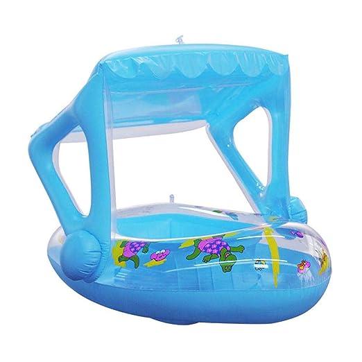 Flotador Anillo De Natación Barco Piscina Para Bebés Inflable De ...