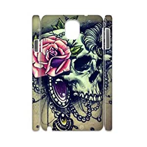ALICASE Sugar Skull Customized Cover Case For samsung galaxy note 3 N9000 [Pattern-6]