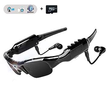 fotos oficiales 8ea2b 1824b WOTUMEO Multifuncionales Gafas de Sol Bluetooth HD 1080P Cámara Mini DV  Vídeo Manos Libres Gafas De Conducción Deportes Ciclismo Gafas De Sol Gafas  ...