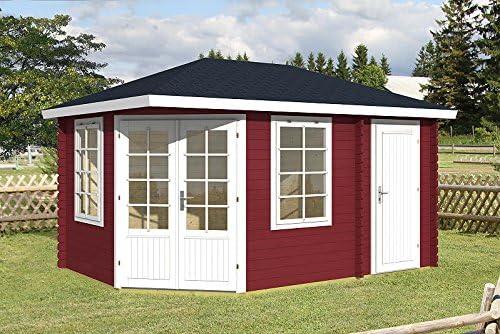 Casa de jardín Roma 40 Caseta de madera 440 x 300 cm – 40 mm: Amazon.es: Jardín