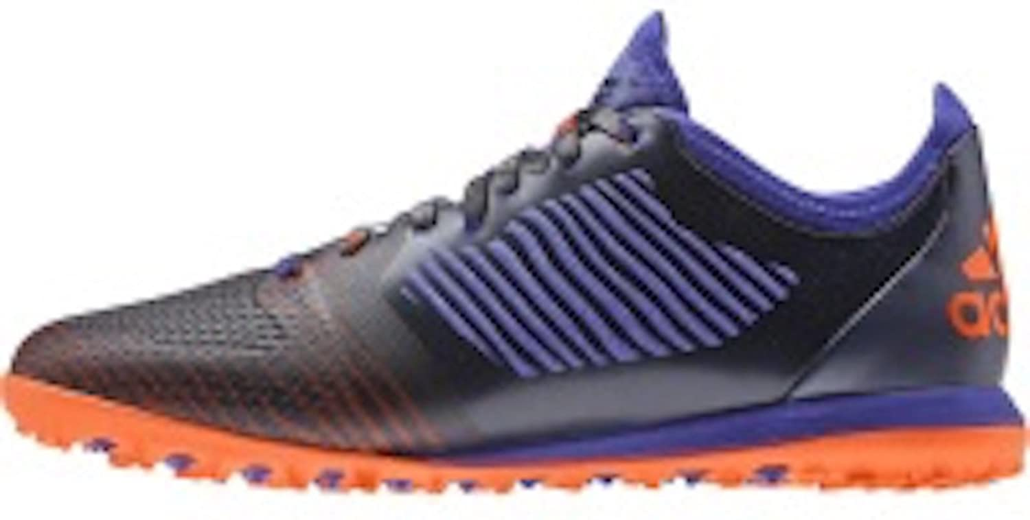 Amazon.com | adidas X 15.1 CG Turf Soccer Shoes (Navy, Orange) Sz. 6.5 |  Soccer