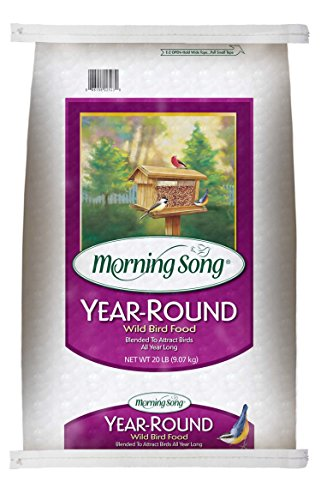 Morning Song 11400 Year-Round Wild Bird Food, 20-Pound by Morning Song