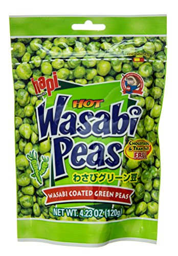 Hapi Wasabi Coated Green Peas, 4.23 oz