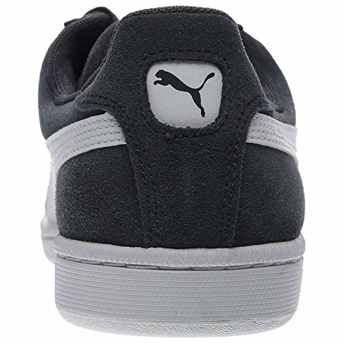 Puma Menns Knuse Semsket Lthr Mote Sneaker Blå