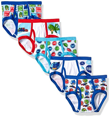 PJ Masks Boys' 5-Pack Brief Underwear