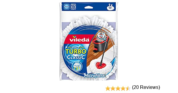 Vileda Easy Wring & Clean - Recambio de microfibra para fregona - [pack de 2]: Amazon.es: Hogar
