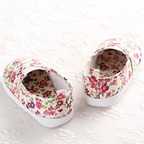 Zapatos Bebé SMARTLADY Primeros pasos Zapatillas para Infantil Recién Niñas