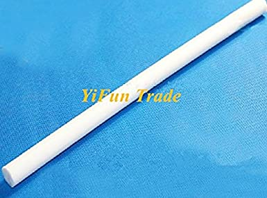 yifun comercio 4/mm di/ámetro 50/cm Longitud tefl/ón varillas tefl/ón Stick polytef Bar 2pc//lot