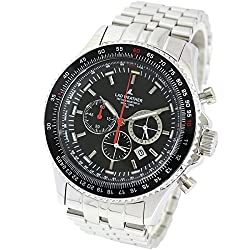 [LAD WEATHER] Swiss Tritium Rotary Slide Rule Pilot Chronograph Japanese movement Military Casual Men's watch