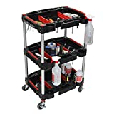 3-Shelf All Purpose Mechanics Shop Utility Cart