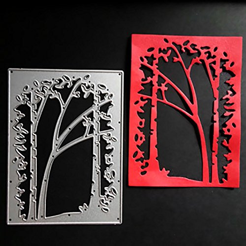 Tree Metal Cutting Dies Stencil Scrapbooking Photo Paper Cards Crafts Embossing DIY