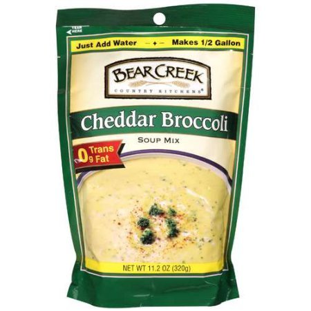 (Bear Creek Country Kitchens Cheddar Broccoli Soup Mix, 11.20 oz (PACK OF 6))