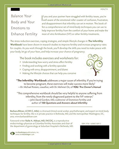The Infertility Workbook: A Mind-Body Program to Enhance Fertility ...