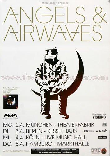 Angels & Airwaves - Lifeline 2012 - Poster, Concertposter, Concert
