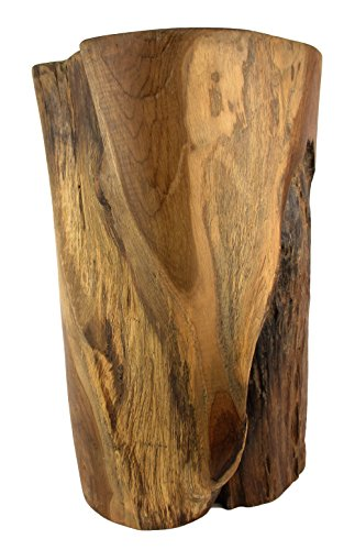 (MagJo Teak Reclaimed Stump Style table or stool)