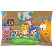 Hertanercase Bubble Guppies Custom Zippered Soft Pillow Cases 20x30 (Two sides)