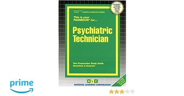 Psychiatric Technicianpassbooks Jack Rudman 9780837342122
