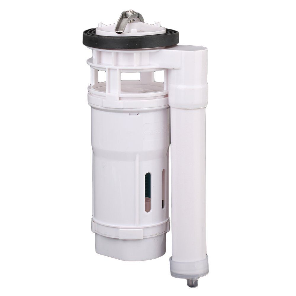 Yibuy Toilet Connected Water Tank Dual Flush Fill Drain Valve 21cm Height Adjustable