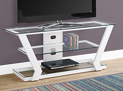 white metal tv stand - 7