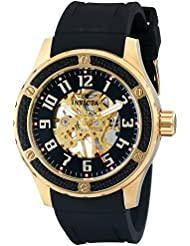 Invicta Mens 16279 Specialty Analog Display Mechanical Hand Wind Black Watch