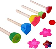 meryn 5Pcs Early Teaching Diy Toys Graffiti Tools Painting Brushes Educational Toys