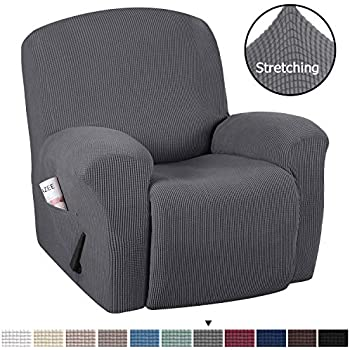 Amazon.com: SQINAA Stretch Recliner Slipcover,Jacquard Sofa ...