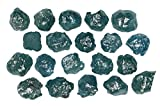 2.03 Ct Natural Loose Diamond Rough Natural Shape Blue Color 20 pcs N4466