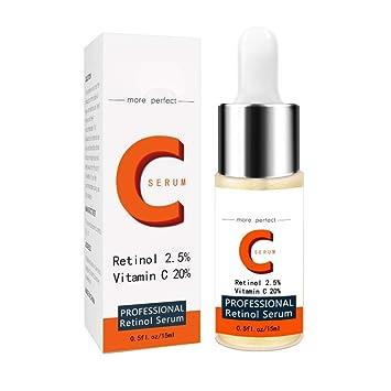 Yiitay - Esencia de cara de suero con vitamina C Serum Retionl Serum – Crema hidratante