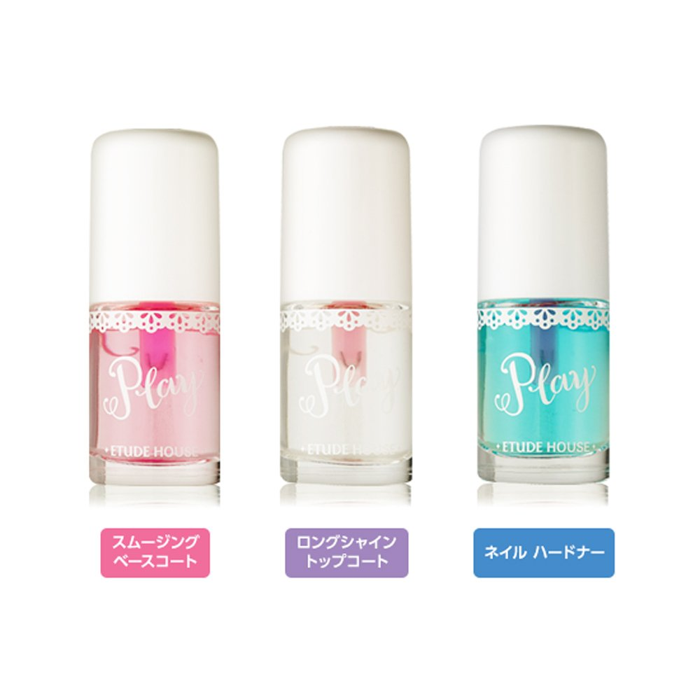 Amazon.com : [Etude House] Play Nail Care 8ml #01 Smoothing Base ...