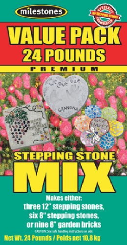 Midwest Products Value Pack Stepping Stone Mix 24-Pound Box