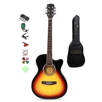 Amazon.com: BAIYING-Guitarra acústica clásica, guitarra de ...