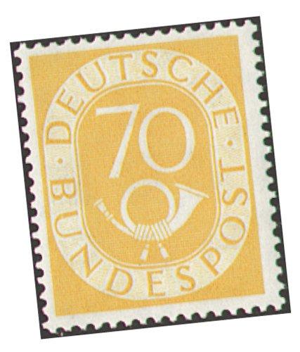 Goldhahn BRD Nr. 136 ungestempelt