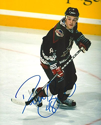 Phoenix Coyotes Photograph - Signed Briere Photograph - PHOENIX COYOTES 8X10 COA - Autographed NHL Photos