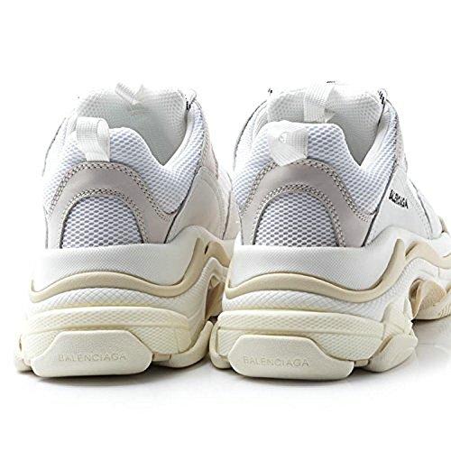 Unisex Balenciaga Sneakers Balenciaga Triple S Sneakers Cream White Hombre Mujer Zapatillas: Amazon.es: Zapatos y complementos