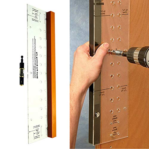 nago0 Drilling Jig - Mini Multifunctional Reaming nge Mounting Self-Centering Furniture Tool Cabinet Door dworking Tool Home Shelf Pin Drilling Jig for Woodworking