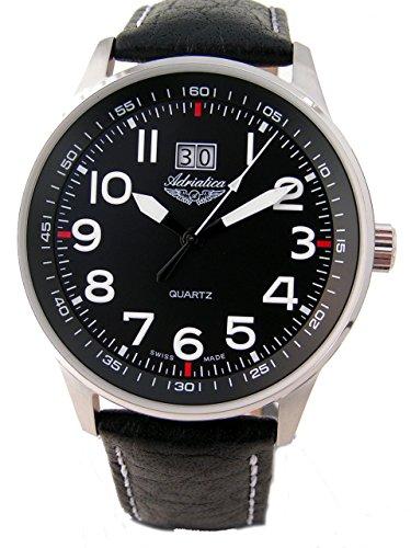 Adriatica-of-Switzerland-Mens-Aviator-with-Big-Date-Watch