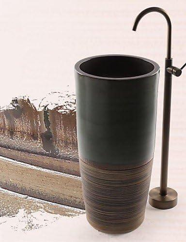 Grifo para bañera latón antiguo-- -Columna de ducha de tierra ...